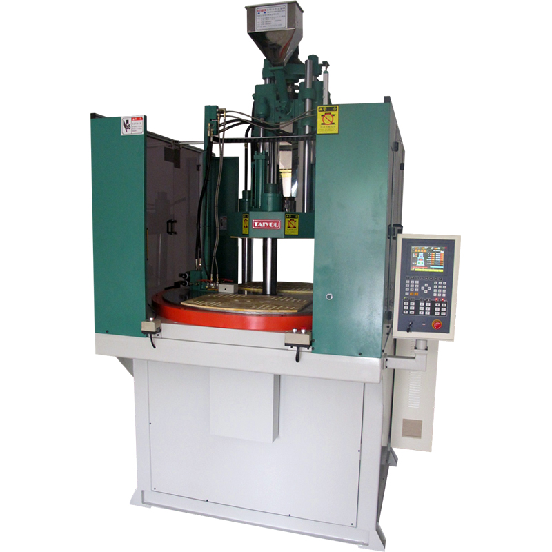 Disk vertical injection molding machine