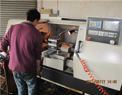 Injection molding machine processing