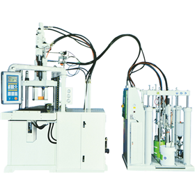 Liquid silicone injection molding machine